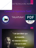 HILATURA CARDADA
