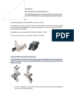 Cables y Conectores Industrial Ethernet
