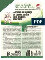 Pesquisa Sobre a Saude Dos Oficiais de Justica