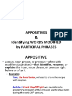 phrases   clauses--appositives   part