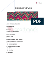 P026 Sikki Grass Weaving