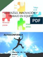 Liderazgo Innovación y Trabajo en Equipo