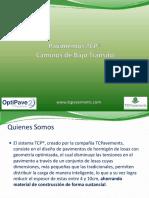 1204024147 Presentación TCP - Bajo Tránsito