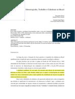 FORTES, Alexandre_ NEGRO, Antonio Luigi. Historiografia, Trabalho e Cidadania No Brasil