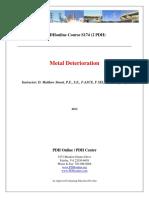 Metal Deterioration Seminar - PDHonline