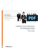 Current State (as-Is) Assessment - IfDS [Published 2014-04-14]