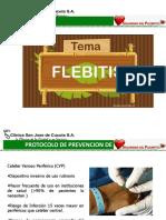 Prevencion de Flebitis Medicamentos Seguro