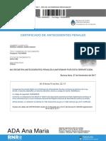 Certif de Antecedentes Penales
