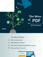 ORACLE the Value of Training eBook 4010807