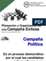 cursoplaneacinorganizacionycoordinacindeunacampaapoliticamarzo2012-120424201434-phpapp02