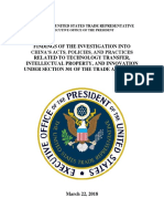 USTR FINAL Section 301 Report on China