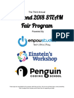 the 2018 steam program  4