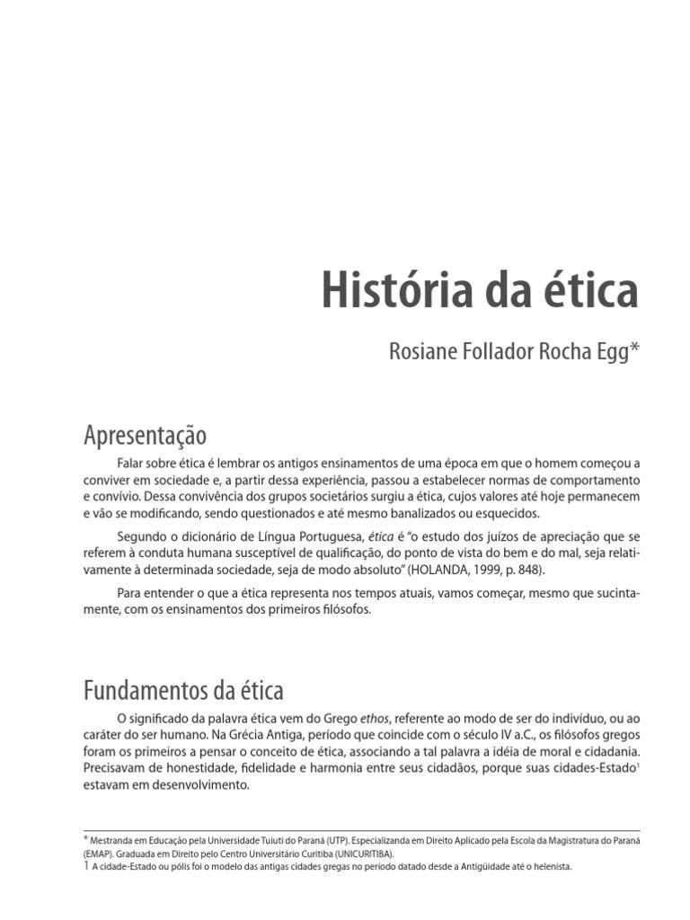 História da ética   pdf Descriptografado pdf