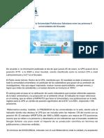 UPS-Noticia-10892464-ES-webometrics Incluye a La Universidad Polit Cnica Salesiana Entre Las Primeras 6 Universidades Del Ecuador