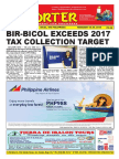 Bikol Reporter February 18 - 24, 2018 Issue