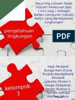 3 cair Tugas Pengolahan Limbah Slag ( Kelompok 3 ).ppt