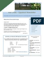 Axe Creek Eppalock News Issue 58