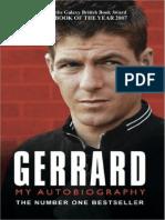 Steven Gerrard - Gerrard My Autobiography