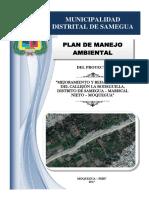 Plan de Manejo Ambiental - Callejón La Bodeguilla