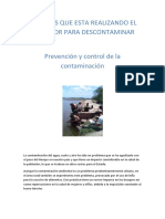 Acciones Que Esta Realizando El Salvador Para Descontaminar