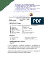Sílabo Derecho Procesal III Investigación Preparatoria 2018-I