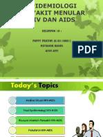 Epidemiologi Penyakit Menular Hiv Dan Aids