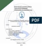 Informe sobre los terremotos y sunamis del peru y mundo. Resilencia