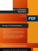 chapter 14 platelet disorders