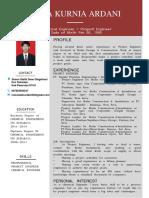 CV - Reza Kurnia Ardani - Project Engineer