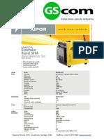 Ficha Tecnica Generador Diesel Insonorizado Kde6700ta Gscom 1