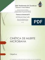 Cinética de Muerte Microbiana