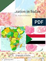 colonization in sudan