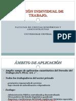 IV. Relación Individual de Trabajo. Normas Generales