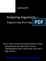 13 Ling 21 Lecture 9 Analysing Short Arguments