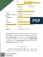 1 Solicitud de Procedimiento Concursal Forzosa Comercial Trademarketing Limitada a Industrial Comercial Estoril Limitada