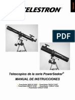 Manual Celestron Powerseeker