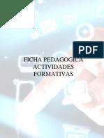 Daniel Ruiz - Ficha Pedagogica Actividades Formativas