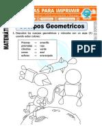 Ficha de Cuerpos Geometricos Para Segundo de Primaria 1