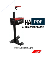 MANUAL - SUN - Ha 600 Alinhador de Farois