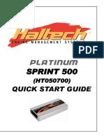 Quick Start Platinum Sprint 500