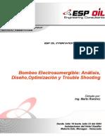 Ramirez, M. - Bombeo Electrosumergible (Análisis, Diseño, Optimización y Trouble Shooting)