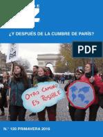 Energia y Clima Tras Acuerdo de Paris