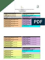 Cronograma de Aulas - Cespeb Geografia 2017