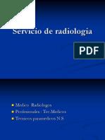 Servicio de Radiologia