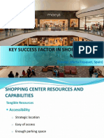 Shopping Center Management,The Sense of Place and Attributes