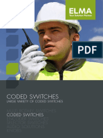 CH15 RS Coded Switches Catalog E
