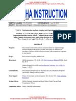 2016 OSHA Occupational Exposure to Isocyanates