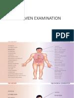 Abdomen Examination
