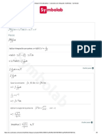 Integral of (Lnx)_(Sqrt(x)) - Calculadora de Integrales Indefinidas - Symbolab
