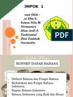 Hakekat Bahasa Indonesia